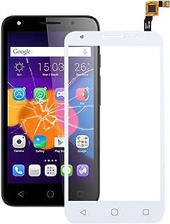 QFH Touch Panel for Alcatel One Touch Pixi 4 5.0 4G / 5045 (Black) قطع غيار لوحة اللمس للهاتف المحمول (Color : White)