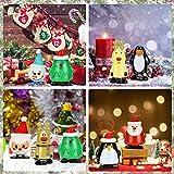 TANCUDER 8 Stücke Kinder Aufziehspielzeug Weihnachten Uhrwerk Spielzeug ABS Weihnachten Aufziehspielzeug Wind Up Figur Aufziehfigur Weihnachten Deko Figuren für Kinder - 5