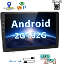 [2G+32G] Upgrade Hikity Double Din Android Car Stereo 10.1 Inch Touch Screen Radio..