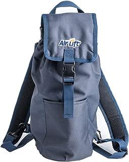 Roscoe Medical Oxygen Cylinder Fanny Pack/Shoulder Bag for M6, M9/C Oxygen Cylinders, Navy Blue