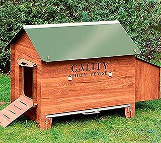 FINCA CASAREJO Gallinero Exterior Grande Fabricado en láminas de HPL para 4-6 gallinas ¡