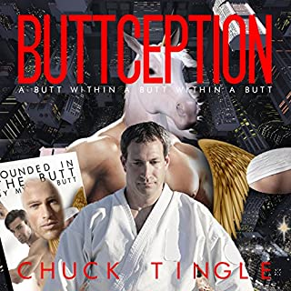 Buttception audiobook cover art