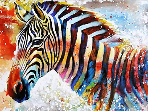 Regalo di Natale Puzzle Adulto 1000 Pezzi Colore Zebra Giocattoli educativi per bambini Decorazioni natalizie