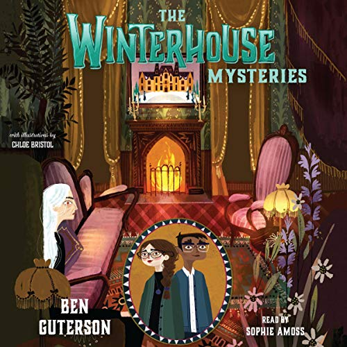 The Winterhouse Mysteries cover art