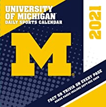 TURNER Sports Michigan Wolverines 2021 Box Calendar (21998051379)