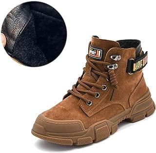 FX Boys Boots,Boys' Martin Boots, Children's Shoes Winter Plus Velvet Girls Cotton Shoes Snow Cotton Short Boots