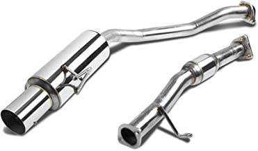 For 00-03 Honda S2000 Catback Exhaust System 4 inches Tip Muffler - AP1 F20C