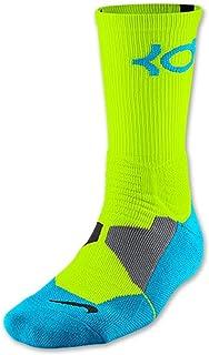 80f797d31040 Nike KD Kevin Durant Hyper Elite Cushioned Basketball Crew Socks (Large)