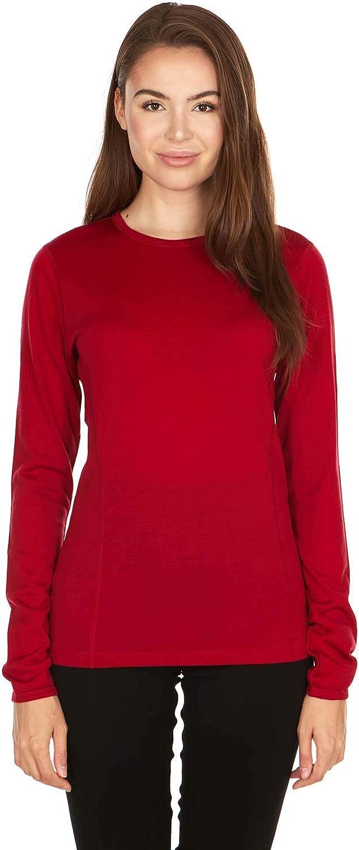 Minus33 Merino Wool Easy-to-use 802 Moriah Women's Red trust Lightweight True Crew