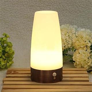 LEDMOMO Nuit de LED Portable léger déplacement éclairage Sensible Piles Lampe de Table Lampe pour Chambre d'Enfant