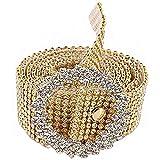 EIKLNN Cinturones de Cintura de Diamante de Imitación, Cinturón de Cintura para Mujer, Cinturón de Cadena de Cristal con Hebilla de Cinturón, para Bodas, Fiestas y Clubes