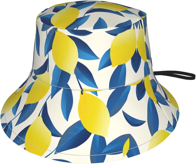 Tropical Lemon Kids Bucket Hat Girls Protection Sun for sale Year-end gift Boys