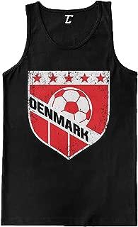 Denmark Crest - Soccer Futbol Sports Men's Tank Top