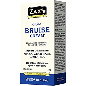 Zaxs Original Bruise Cream - #1 Selling Bruise Cream, Speeds Healing by 4 Days!, Reduces Pain & Inflammation, Reduces Discoloration, Ideal for Medical Cabinet & 1st Aid Kit