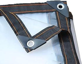 AOHMG Heavy Duty Tarps, waterdicht regendicht dekzeil met metalen grommets elke 39 inch - voor broeikasmembraan en Cover T...