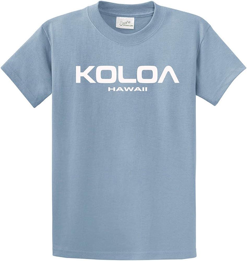 Koloa Surf Co. Koloa-Hawaii Logo T-Shirts in Regular, Big and Tall Sizes