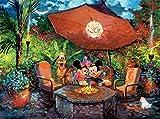 Puzzle - Ceaco - Disney Fine Art - Mickey Minnie Coleman Paradise 1000pc 3377-6