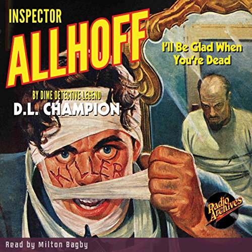 Inspector Allhoff audiobook cover art
