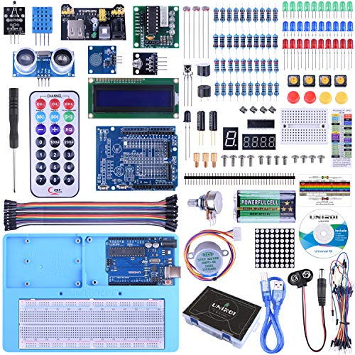 powerful UNIROI Ultimate Starter Kit is compatible with Arduino IDE 328P control board Page 260 Continue reading…
