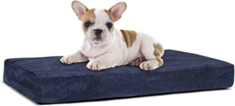 Orthopedic Dog Bed with Memory Foam | Lavish Mattress for Orthopedic Pet Joint Relief | Machine Washable Fabric with Remov...