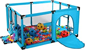 LNDDP Playpens Play Yard Indoor for Infants Toddler  Portable Baby Playard Kid s Game Fence  Durable Anti-collision 120 100 62cm