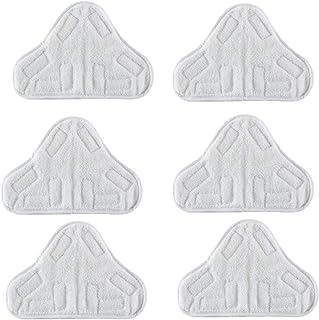 H2O Efbe-Schotte Paquete de 6 Montiss y Delta Lampazos de Vapor Bionaire Newin Star Microfibra Lavables de Tela para adecuar Vax