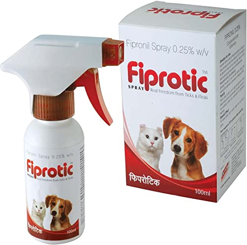 all4pets Fiprotic Tick and Fleas-free Spray (100 ml)