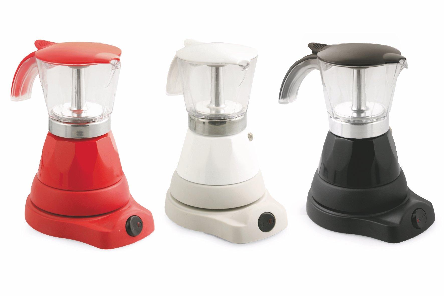 Kooper 2174615 – Cafetera eléctrica 4 tazas 400W, Colores surtidos, 1 pieza: Amazon.es: Hogar