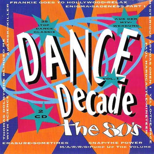 dance decade (CD Compilation, 35 Tracks)