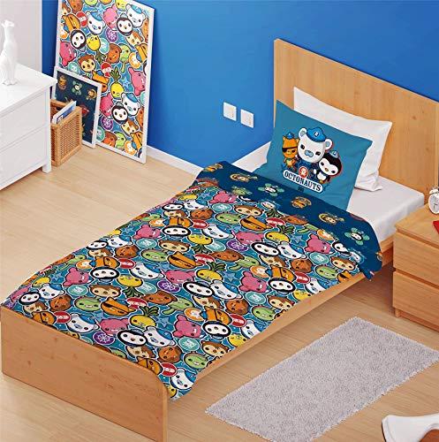 Octonauts Junior Bettwäsche-Set (Einheitsgröße) (Blau)