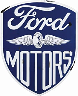 Open Road Brands Ford Motors geprägtes Metallschild