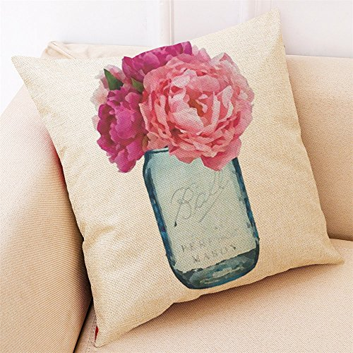 Little Story Home Decor Cushion Cover Hello Spring Throw Pillowcase Pillow Covers