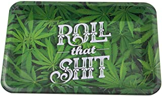 SparkLia Metal Rolling Tray Large 7.5 x 11.3 Inch Home Fruit Tray Accessory