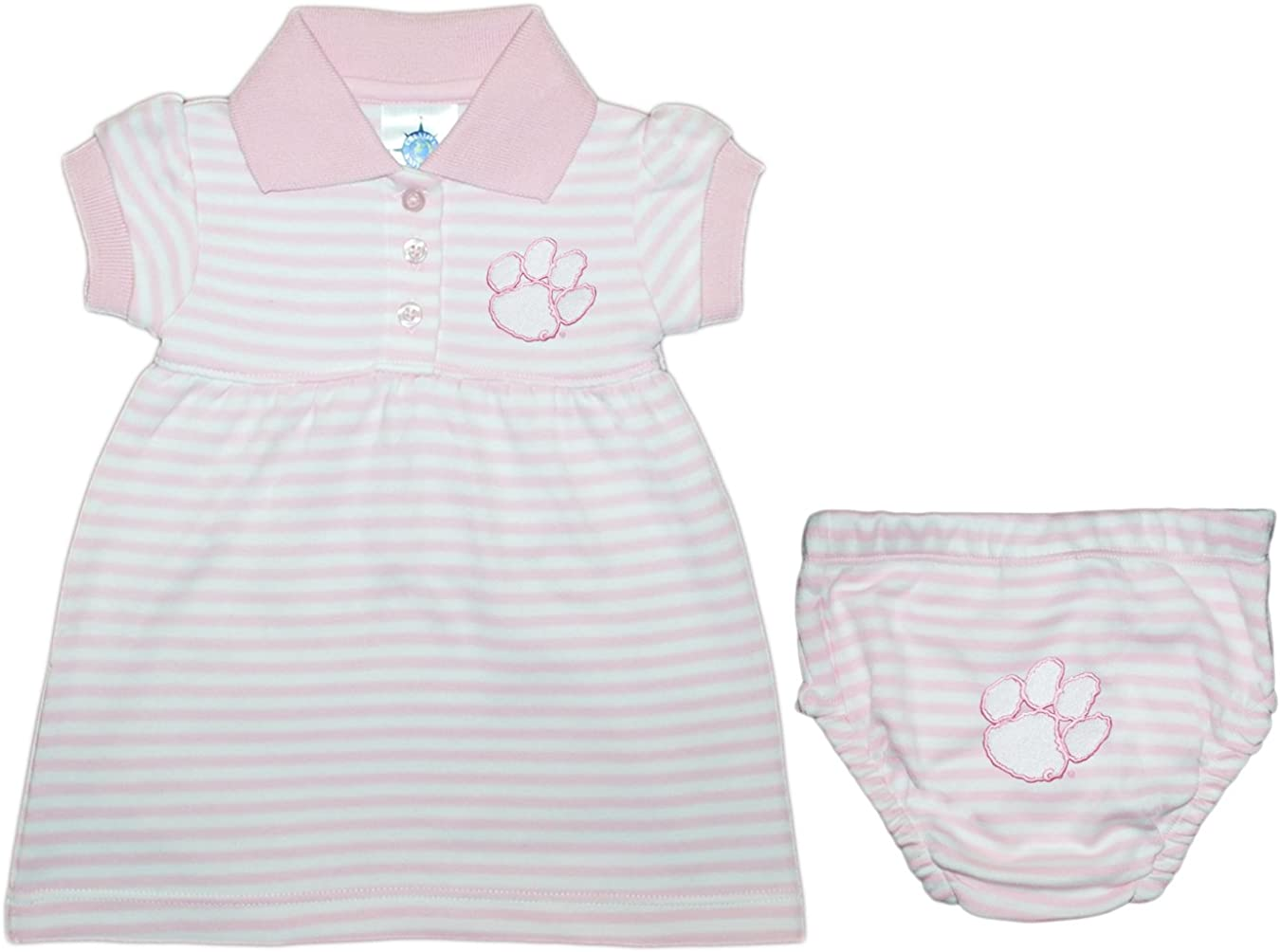 Clemson University Tigers El Paso Mall We OFFer at cheap prices Striped Game Bloomer with Day Dress