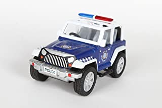 Centy Toys Ranger Pull Back Police Jeep (Multicolor)