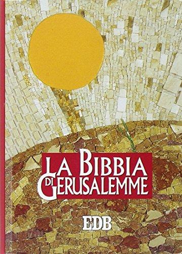 La Bibbia di Gerusalemme. Ediz. plastificata