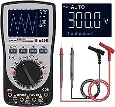 Multímetro e osciloscópio Ankong, osciloscópio portátil para detecção de falha de campo, análise de detecção de tensão/cor...