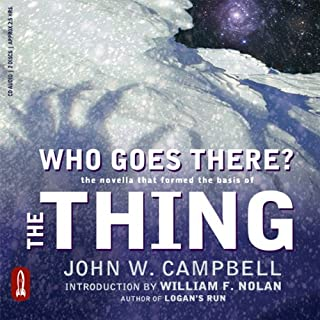 Who Goes There? audiobook cover art