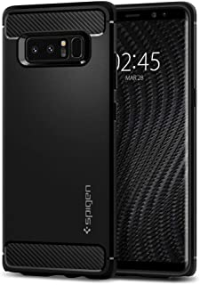 Spigen Samsung Galaxy Note 8 Rugged Armor cover / case - Matte Black