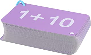 TOYANDONA Addition and Subtraction Flash Cards All Facts Color Coded Best for Kids in Kindergarten 1st 2nd 3rd Grade (in 20)