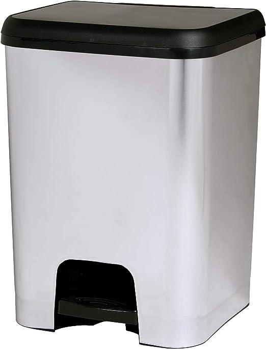 TODO HOGAR Cubo de Basura de Reciclaje Papel Cubo con Pedal con Capacidad de 80 litros.