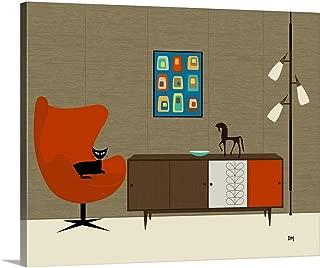 Orla Kiely Cabinet Canvas Wall Art Print, 30