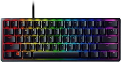 (Renewed) Razer Huntsman Mini 60% Gaming Keyboard: Clicky Optical Switches RZ-03-03390100 - Black