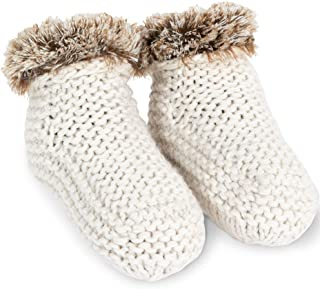 Addison Meadow Bootie Slippers for Women - Knit Slipper Boots for Women