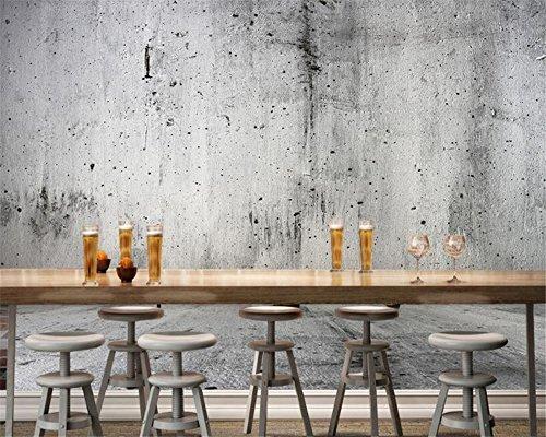 BHXIAOBAOZI behang, fotobehang, aangepaste beton muur foto 3D wallpaper steen muur textuur achtergrond achtergrond achtergrond achtergrond voor woonkamer TV achtergrond slaapkamer muur decoratie 280cm(W)×180cm(H)