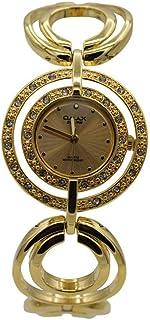 ساعة يد نسائية من اوماكس ، انالوج بعقارب ، ذهبي