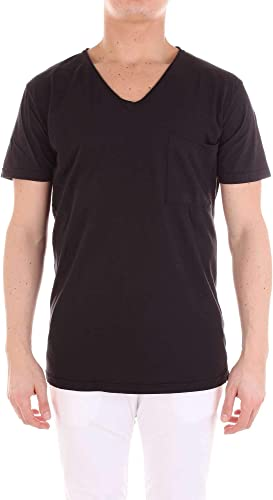 Alternative Luxury mode Homme M4135C1noir Noir T-Shirt   Printemps été 19