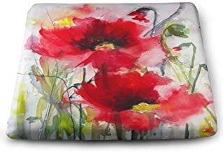 Ladninag Seat Cushion Dreamy Poppies Chair Cushion Marvellous Offices Butt Chair Pads for Cars