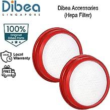 [Dibea Singapore] DIBEA Replacement Hepa Filter - DIBEA D18, D18Pro, H008pro, G12, T8 & H008 | Washable | Dust Collection ...