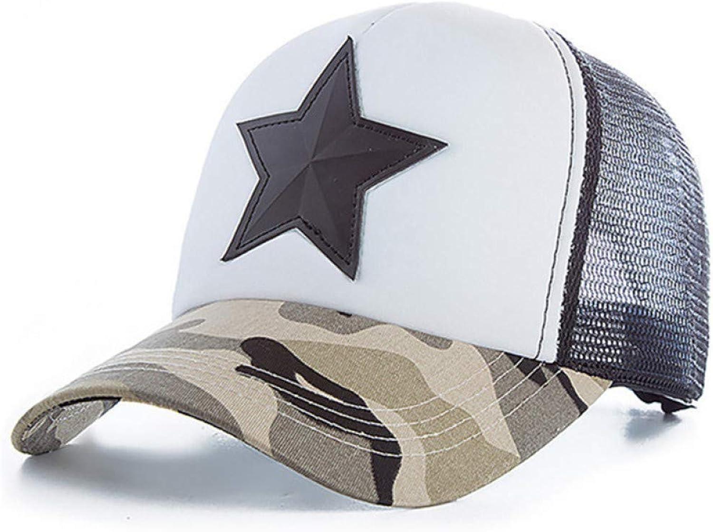 JKYJYJ Summer Mesh Cap Camouflage Baseball Caps for Men Women Bone Casquette Homme Mesh Hats Camo Dad Hat